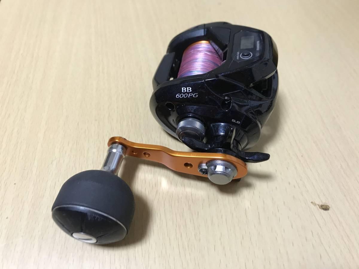 シマノ (SHIMANO) ベイトリール 17 バルケッタ BB 600PG 右ハンドル _画像4