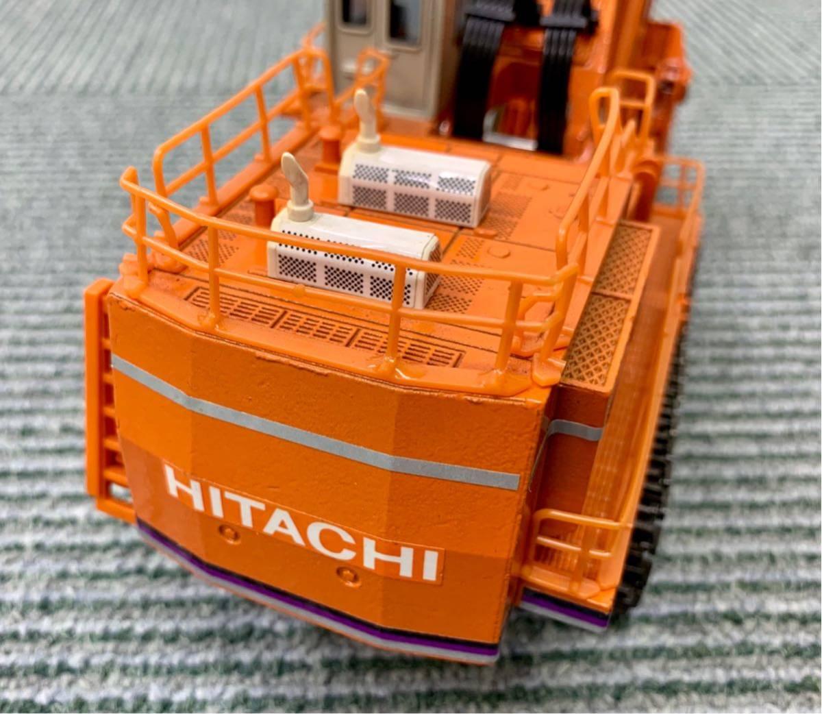 日立 HITACHI ジャイアント・エクスカベーター GIANT EXCAVATOR 油圧ショベルカー EX1800 Landy S=1/60 ミニカー 日本製 箱なし_画像3