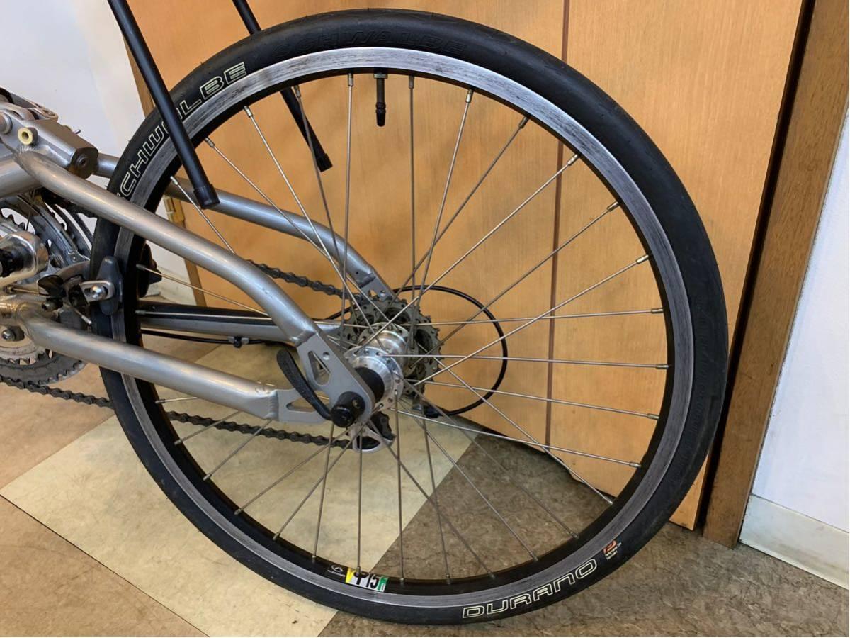 タルタルーガ タイプ・スポルト 20インチ 折り畳み自転車 京都市へ直接引き取り可能な方のみ落札して下さい. アフターパーツ多数 TARTARUGA_画像7