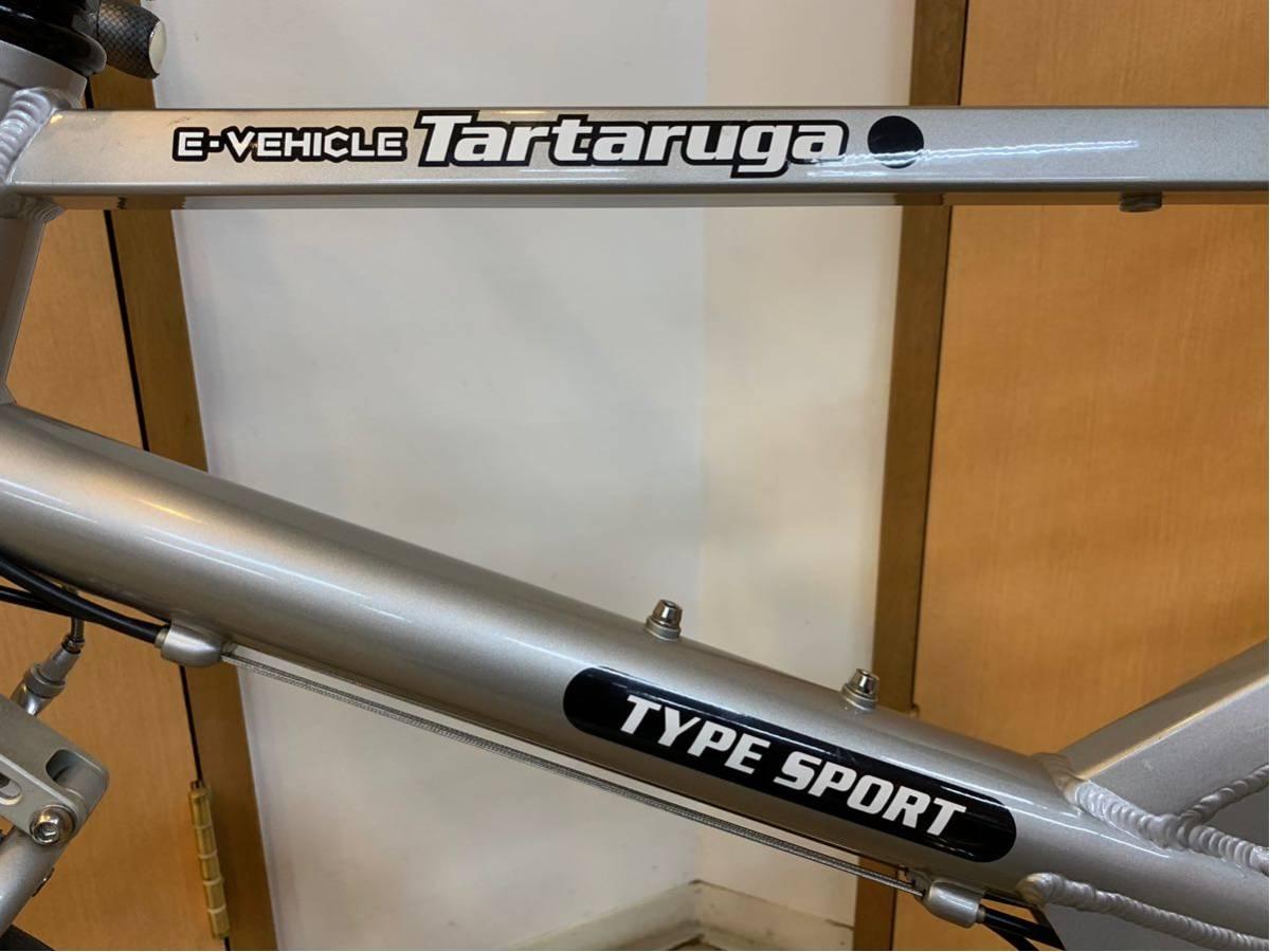 タルタルーガ タイプ・スポルト 20インチ 折り畳み自転車 京都市へ直接引き取り可能な方のみ落札して下さい. アフターパーツ多数 TARTARUGA_画像4