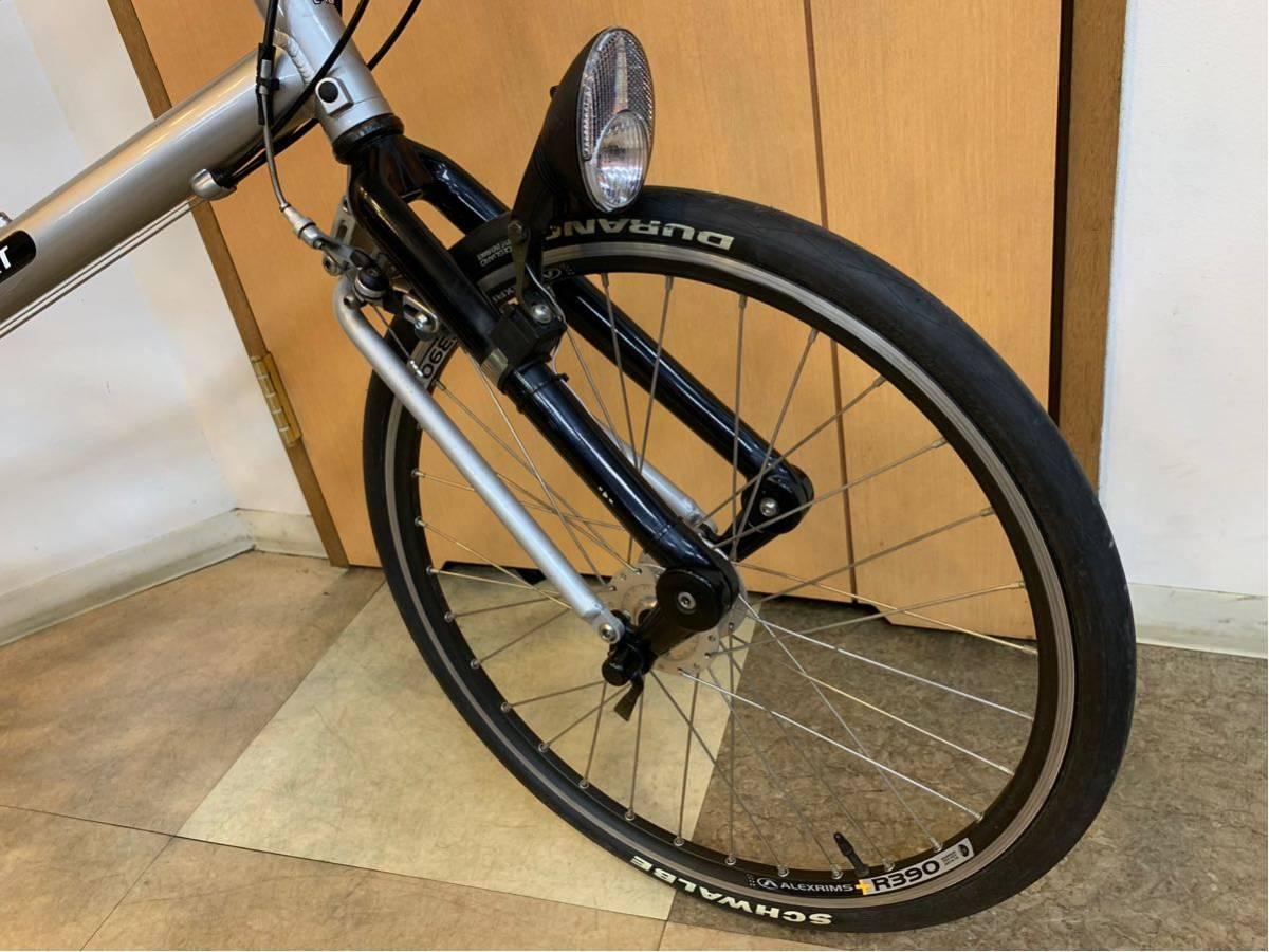 タルタルーガ タイプ・スポルト 20インチ 折り畳み自転車 京都市へ直接引き取り可能な方のみ落札して下さい. アフターパーツ多数 TARTARUGA_画像9