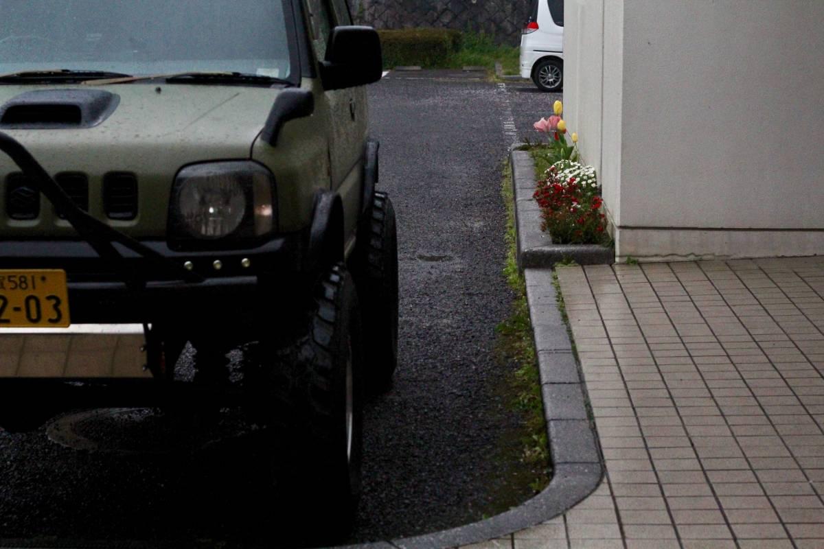 ジムニー クロカン ロック JA11.SJ30.JB23.JB64 ホイール タイヤ 逆履きマイナスオフセット 専用30ワイトレ付き MT2 7.50_画像3