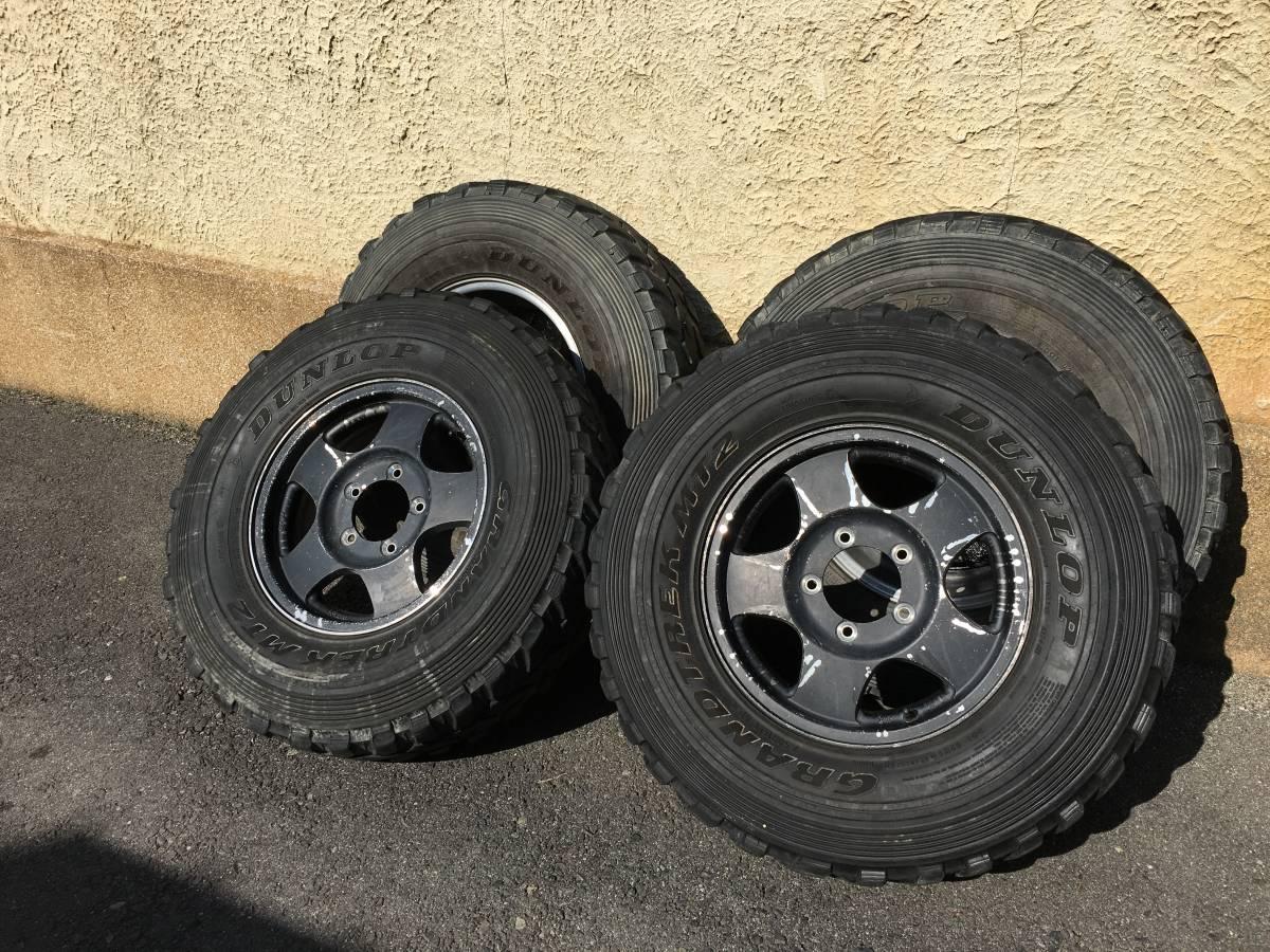 ジムニー クロカン ロック JA11.SJ30.JB23.JB64 ホイール タイヤ 逆履きマイナスオフセット 専用30ワイトレ付き MT2 7.50_画像10