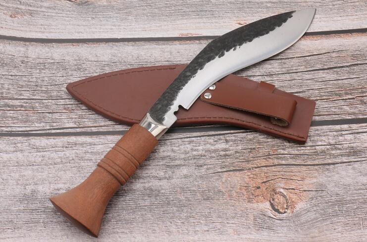 新品 ククリナイフ グルカ 狩猟 全長35 CM 大型ナイフ マチェット キャンプ 山刀 アウトドア_画像2