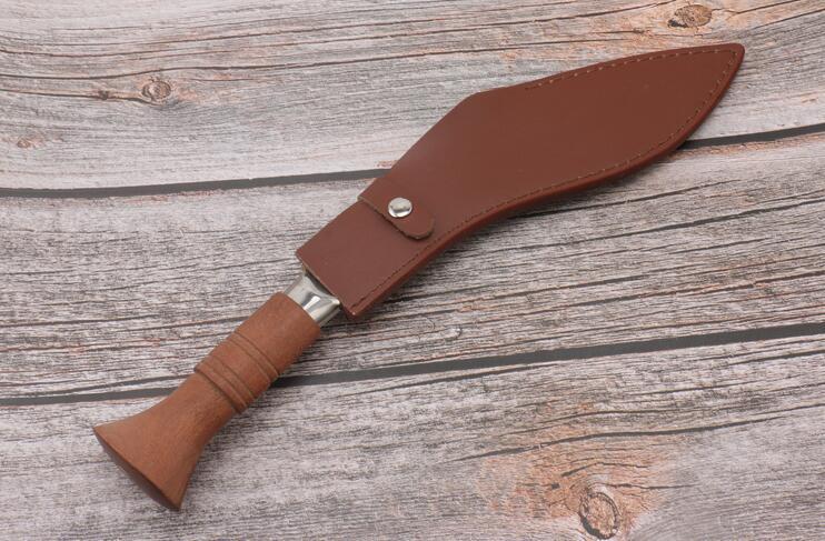 新品 ククリナイフ グルカ 狩猟 全長35 CM 大型ナイフ マチェット キャンプ 山刀 アウトドア_画像3