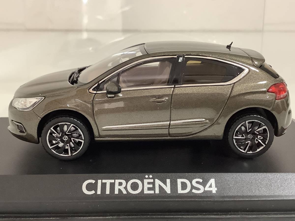 CITROEN シトロエン DS4 シック スポーツシック 前期型 2011年~2015年式 1/43 約9.9cm ノレブ ミニカー カラーサンプル 色見本 送料¥350_画像3