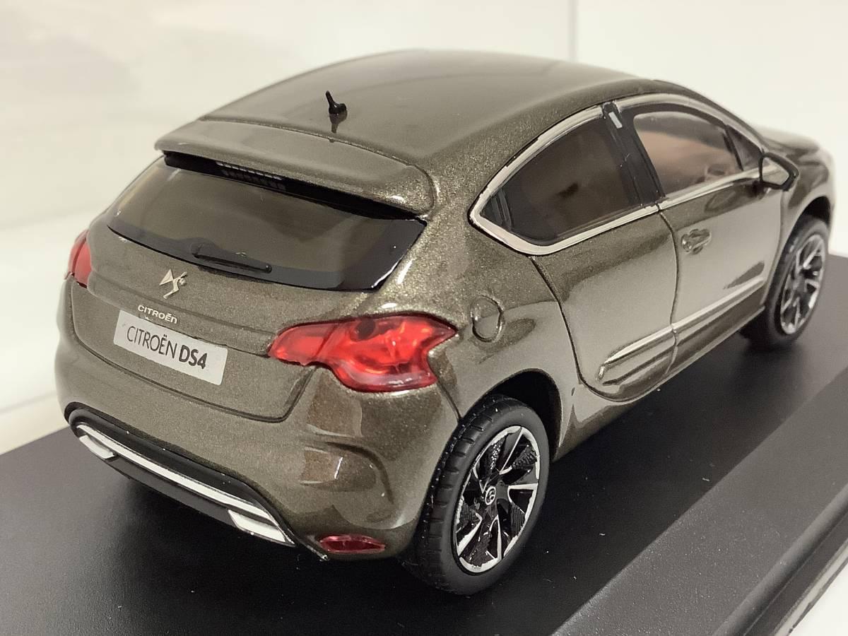 CITROEN シトロエン DS4 シック スポーツシック 前期型 2011年~2015年式 1/43 約9.9cm ノレブ ミニカー カラーサンプル 色見本 送料¥350_クリアケースにスレキズがあります。