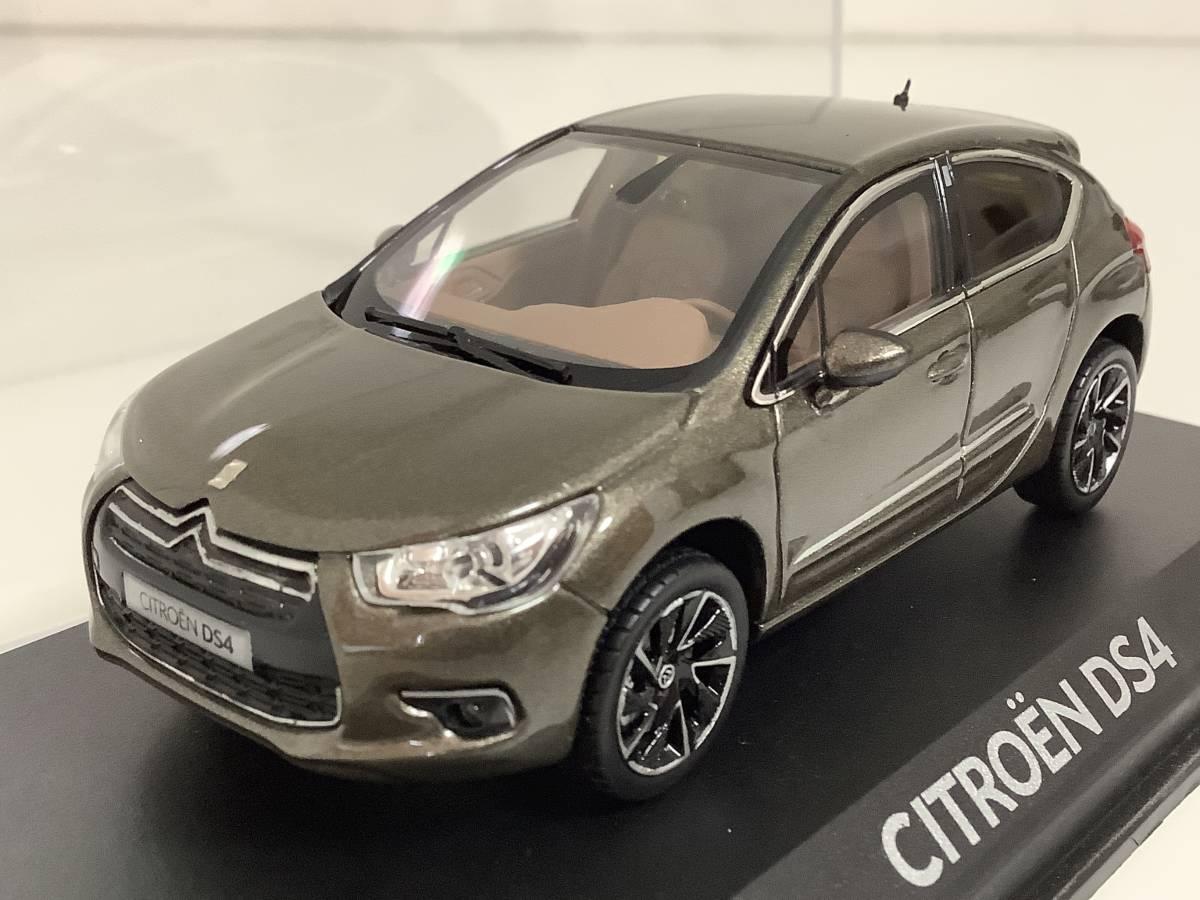 CITROEN シトロエン DS4 シック スポーツシック 前期型 2011年~2015年式 1/43 約9.9cm ノレブ ミニカー カラーサンプル 色見本 送料¥350_前期型 2011年~2015年式 1/43 約9.9cm