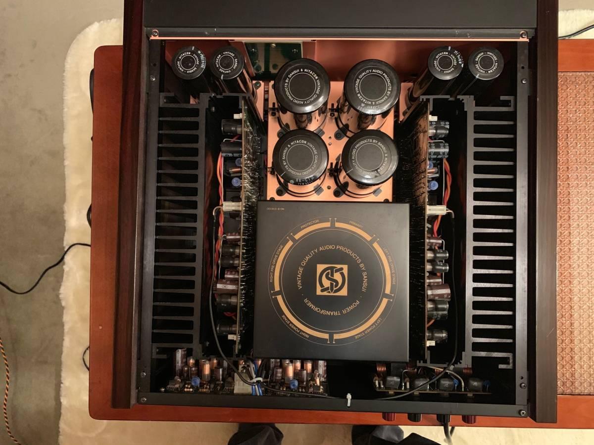 Sansui B2201 Power Amplifier Fire サンスイ パワーアンプ B-2201 完全動作品  ワンオーナー_画像2