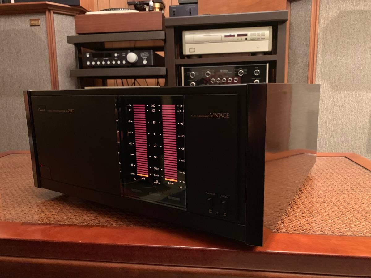 Sansui B2201 Power Amplifier Fire サンスイ パワーアンプ B-2201 完全動作品  ワンオーナー_画像4