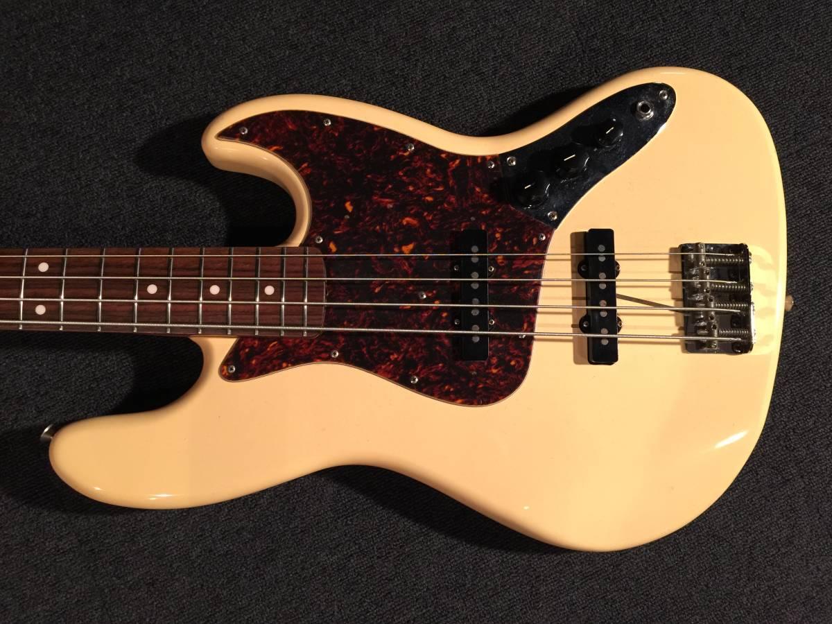 レア!マッチングヘッド!Fender Japan JB62US VWH/R No.036219 JAPAN VINTAGE_画像2