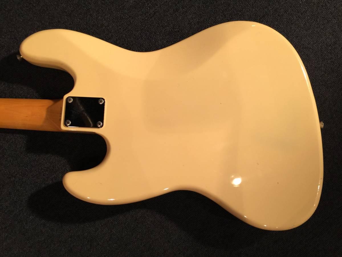 レア!マッチングヘッド!Fender Japan JB62US VWH/R No.036219 JAPAN VINTAGE_画像3