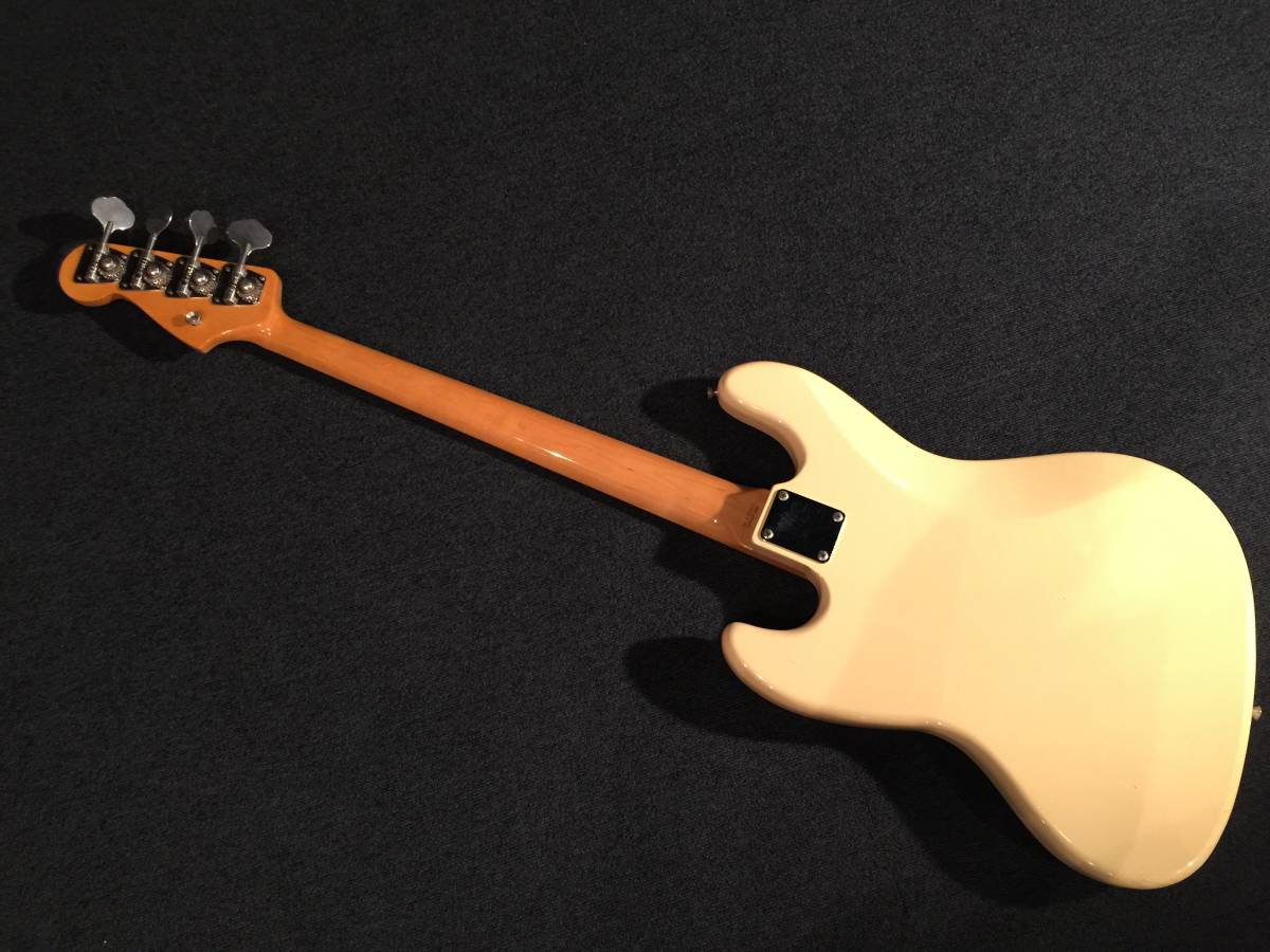 レア!マッチングヘッド!Fender Japan JB62US VWH/R No.036219 JAPAN VINTAGE_画像4