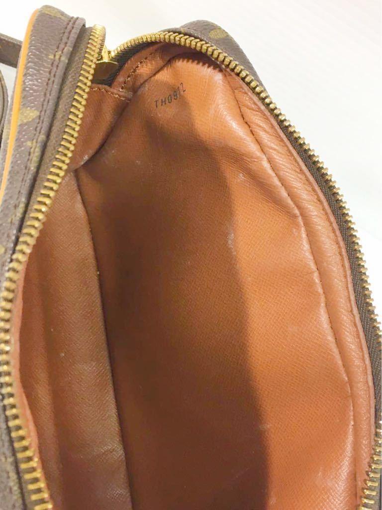 1円★ ヴィトン LOUIS VUITTON モノグラム ショルダーバッグ マルリーバンドリエール M51828 中古 斜め掛け _画像5