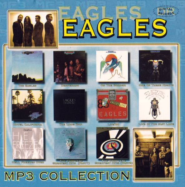 【MP3-CD】 Eagles イーグルス 11アルバム 159曲収録_画像2