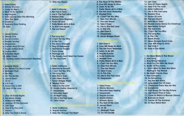 【MP3-CD】 Eagles イーグルス 11アルバム 159曲収録_画像3
