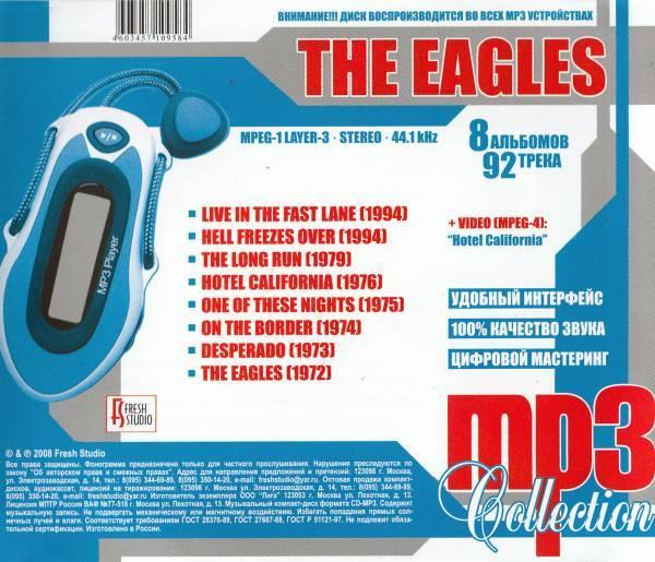 【MP3-CD】 Eagles イーグルス 8アルバム 92曲収録_画像2