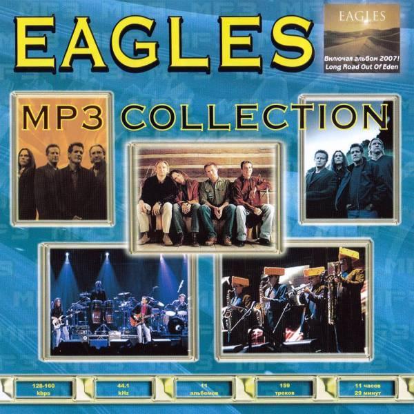 【MP3-CD】 Eagles イーグルス 11アルバム 159曲収録