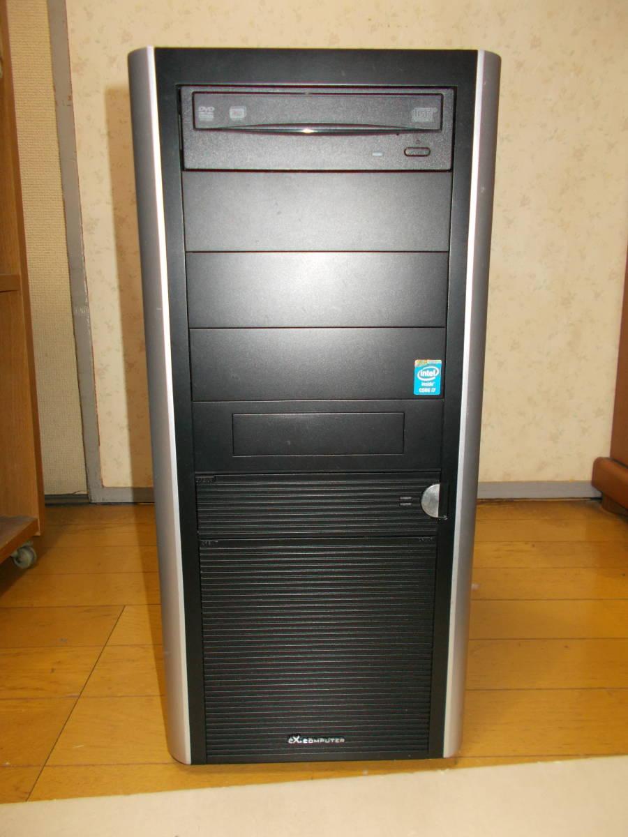 送料無料 値下げツクモEX WIN10 Core i7 4790 メモリー16GB SSD480GB新品 HDD2000GB GTX760