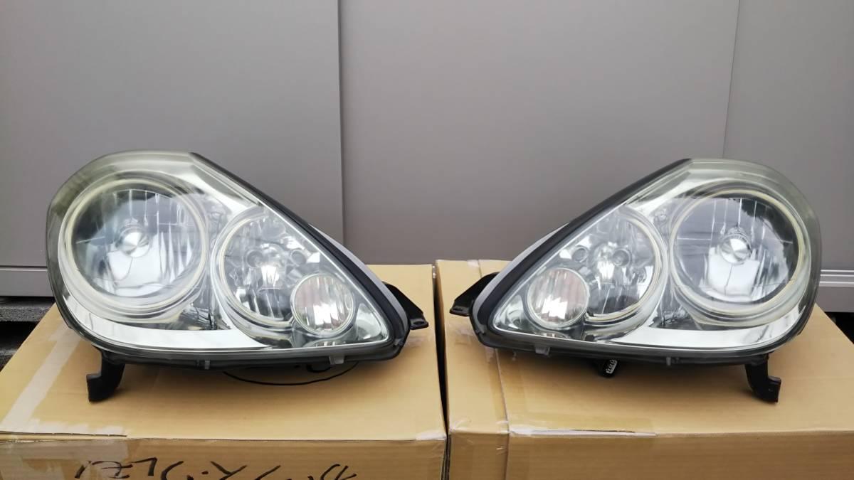 ブレビス ヘッドライト 左右セット 加工用または部品取りに _加工用に、どうでしょうか?