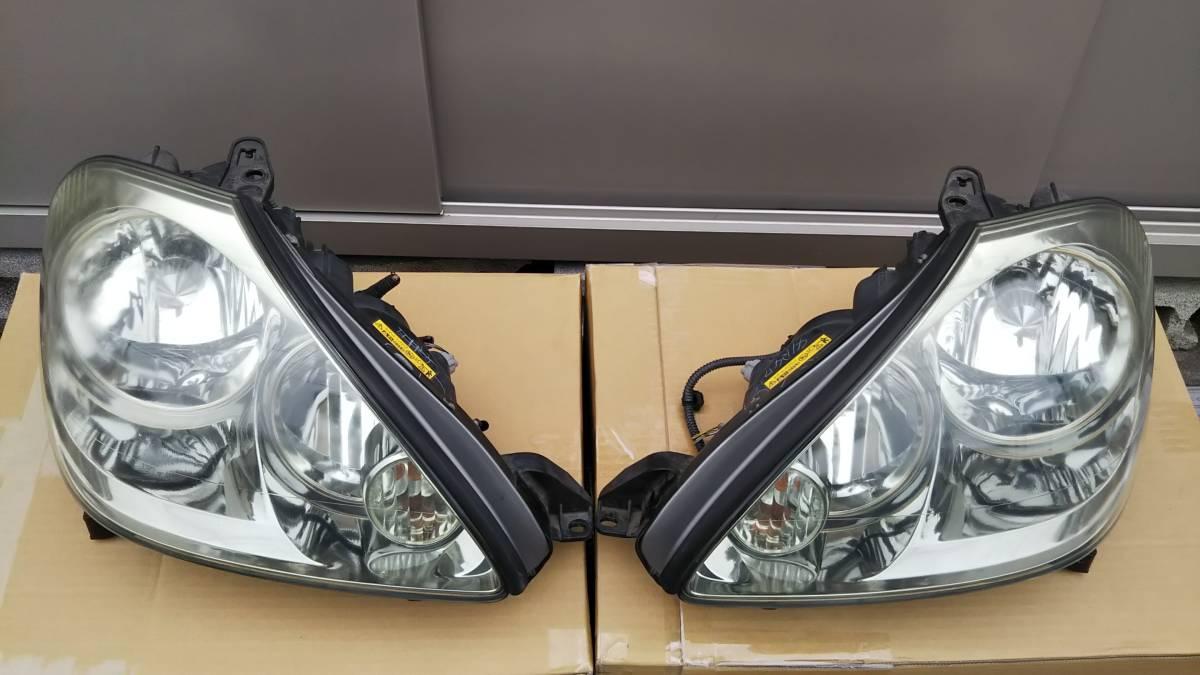 ブレビス ヘッドライト 左右セット 加工用または部品取りに _左右セットです。部品取りに!