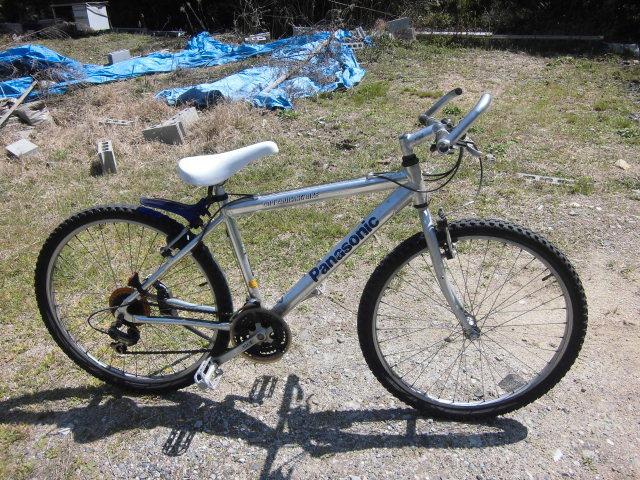 パナソニック 26インチ 21段変速 フルアルミ超軽量 稀少自転車 引き取り希望_画像1