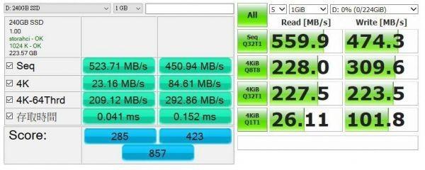1円~![3年保証/正規品] 新品 大好評! AITC 内蔵 SSD 【240GB】 2.5インチ SATAⅢ 6G/bps MLC採用 Windows 10/Linux Kernel 2.6.31以降_画像5