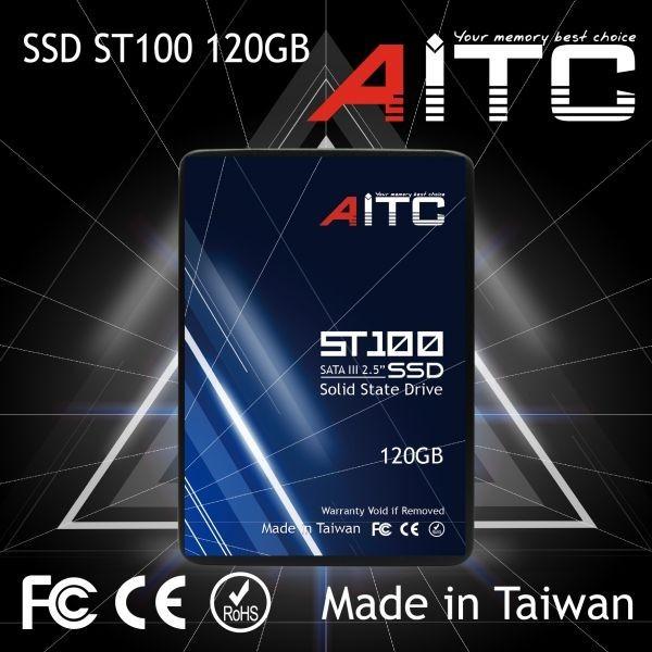 1円~![3年保証/正規品] 新品 大好評! AITC 内蔵 SSD 【120GB】 2.5インチ SATAⅢ 6G/bps MLC採用 Windows 10/Linux Kernel 2.6.31以降_画像3
