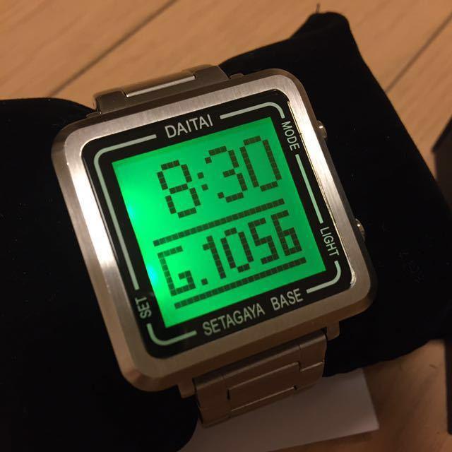 【1円~ 送料込み】所さん DAITAI時計 Square ver. 世田谷ベース ダイタイ時計 ロードストローラー SEAF 完売品 レア 希少品