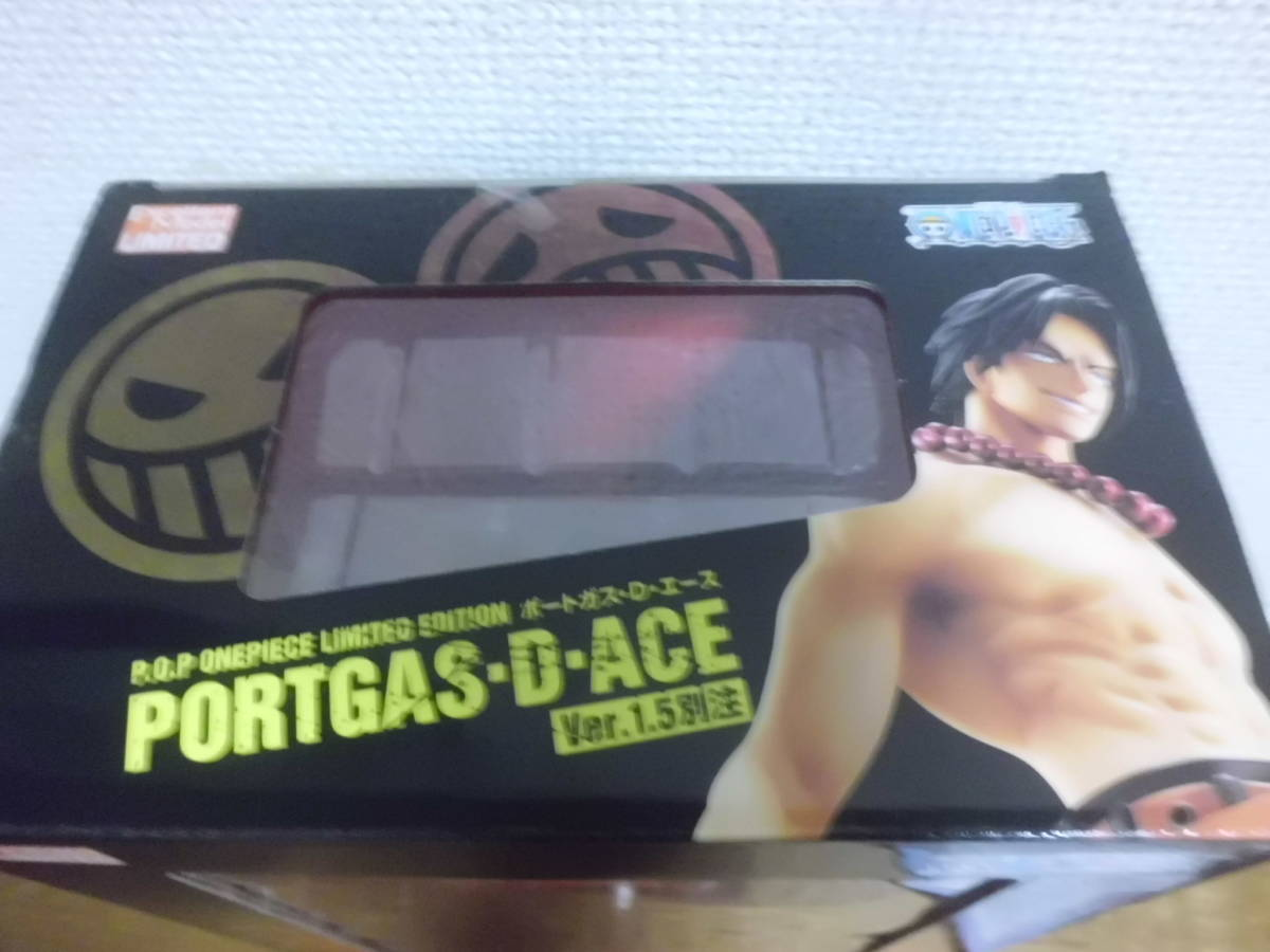 Portrait.Of.Pirates ワンピースLIMITED EDITION ポートガス・D・エースVer.1.5別注 メガハウス エクセレントモデルLIMITED P.O.P_画像2