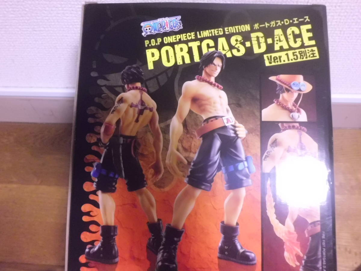 Portrait.Of.Pirates ワンピースLIMITED EDITION ポートガス・D・エースVer.1.5別注 メガハウス エクセレントモデルLIMITED P.O.P_画像5