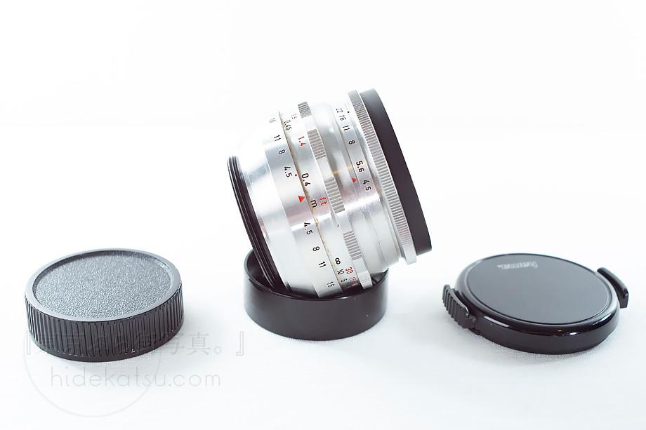 メイヤーの準広角プリマゴン【分解清掃済み・撮影チェック済み】Primagon F4.5 35mm M42 / Meyer Optik Grlitz _09g_上下キャップ付き