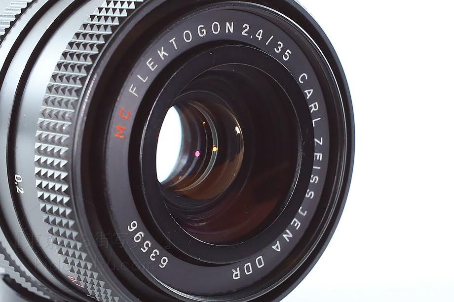 銘玉フレクトゴン後期 黒F2.4【分解清掃済み・撮影チェック済み】Carl zeiss jena Flektogon F2.4 35mm M42 _5n_画像5
