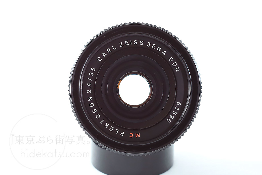 銘玉フレクトゴン後期 黒F2.4【分解清掃済み・撮影チェック済み】Carl zeiss jena Flektogon F2.4 35mm M42 _5n_画像3