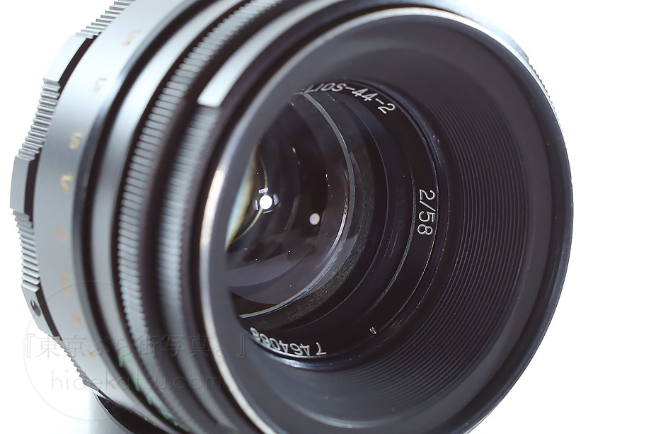 ぐるぐるボケのヘリオス 純正ケース 製品証【分解清掃済み・撮影チェック済み】Helios 44-2 58mm F2.0 各社用マウントプレゼント有_34h_画像4