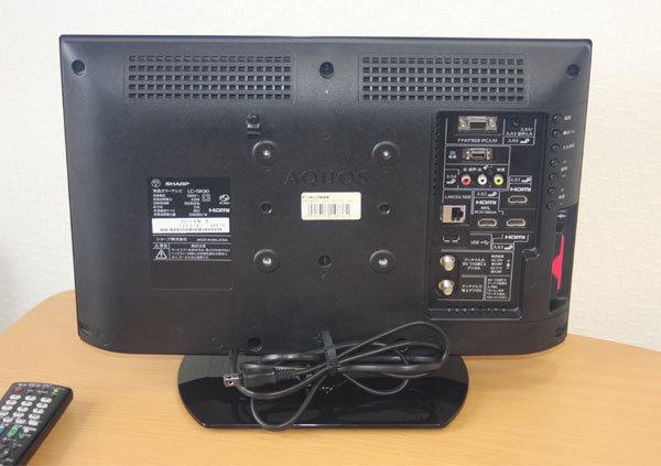 ★SHARP★シャープ★AQUOS 液晶カラーテレビ 19型★LC-19K90★2013年製★美品★_画像3