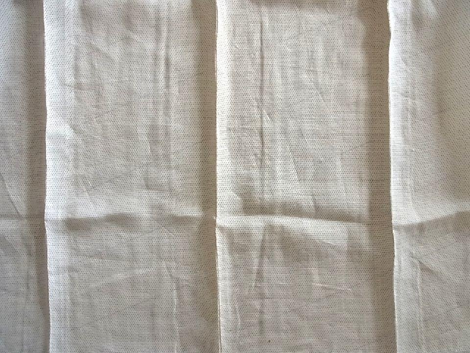 ■m5235■アンティーク■麻・上布■白 蚊絣 男物 単衣 着物■丈135.5 裄64 _画像3