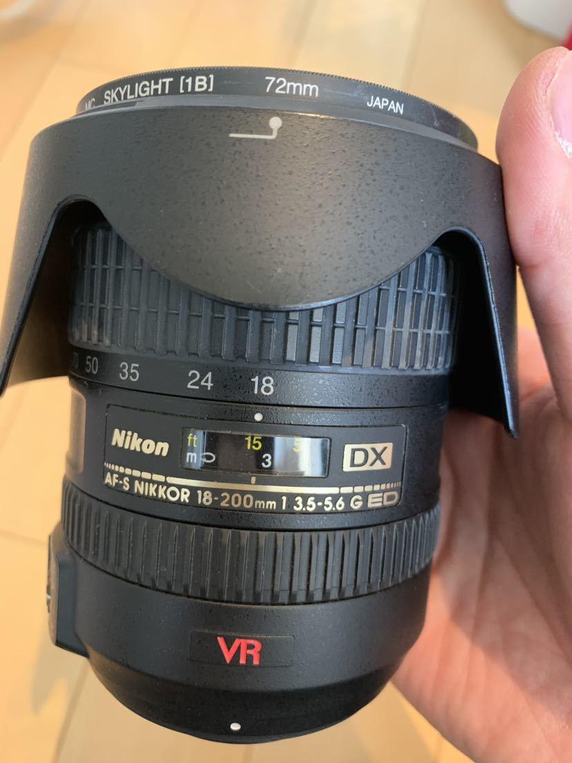 ニコン Nikon 18-200mm レンズ_画像2