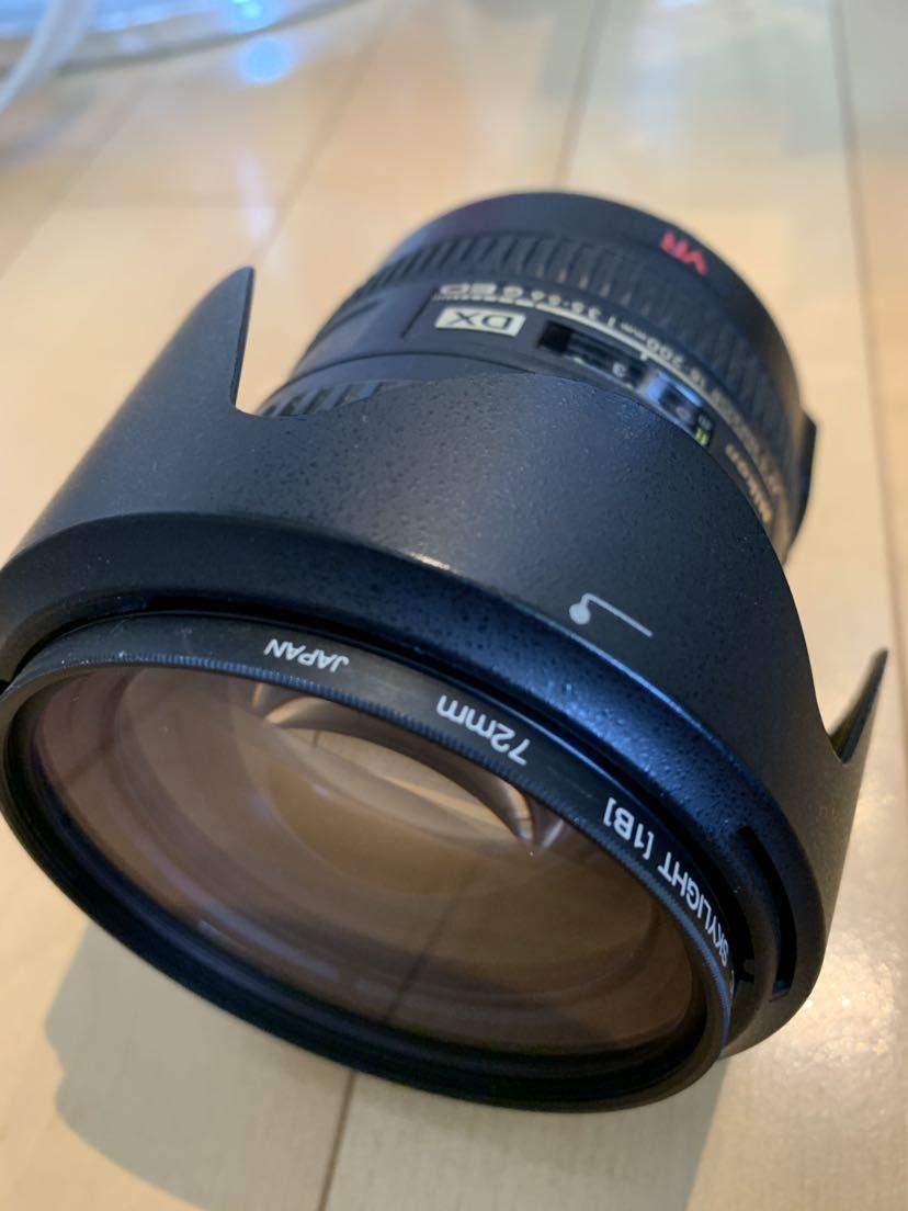 ニコン Nikon 18-200mm レンズ