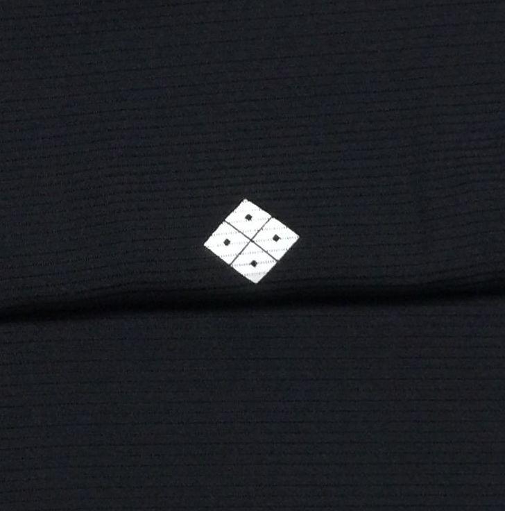 夏用 黒喪服 正絹 絽 Mサイズ 前巾広め 身丈161.5 裄65 未着用美品 家庭保存_画像3