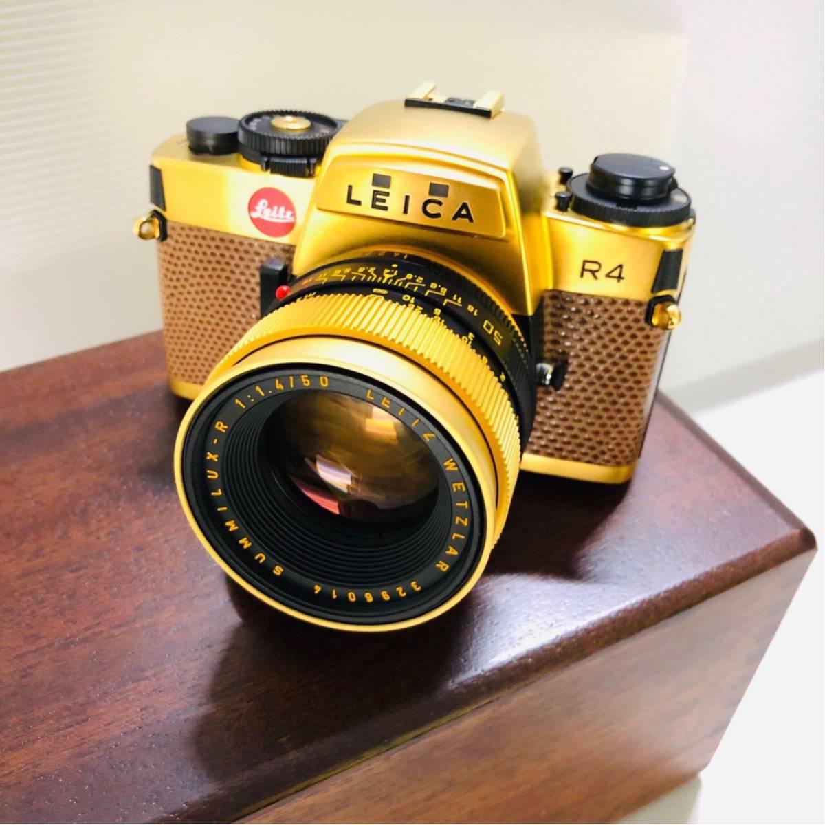 【極美品】Leica R4 SUMMILUX-R 1:1.4 50 LEITZ WETZLAR カメラ 希少_画像3