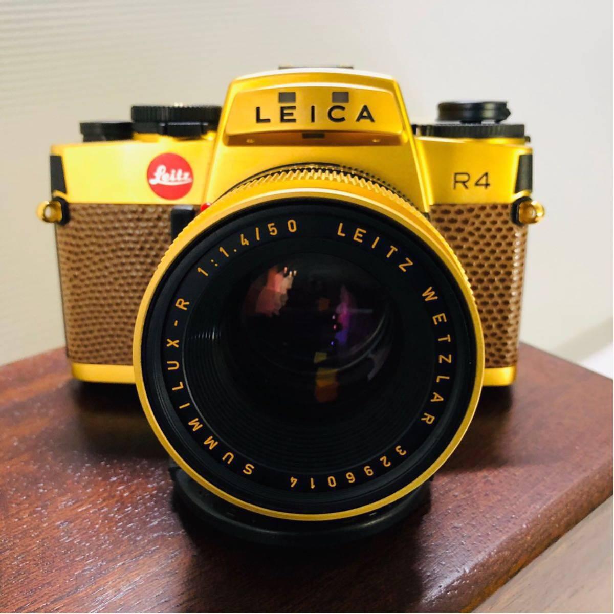 【極美品】Leica R4 SUMMILUX-R 1:1.4 50 LEITZ WETZLAR カメラ 希少