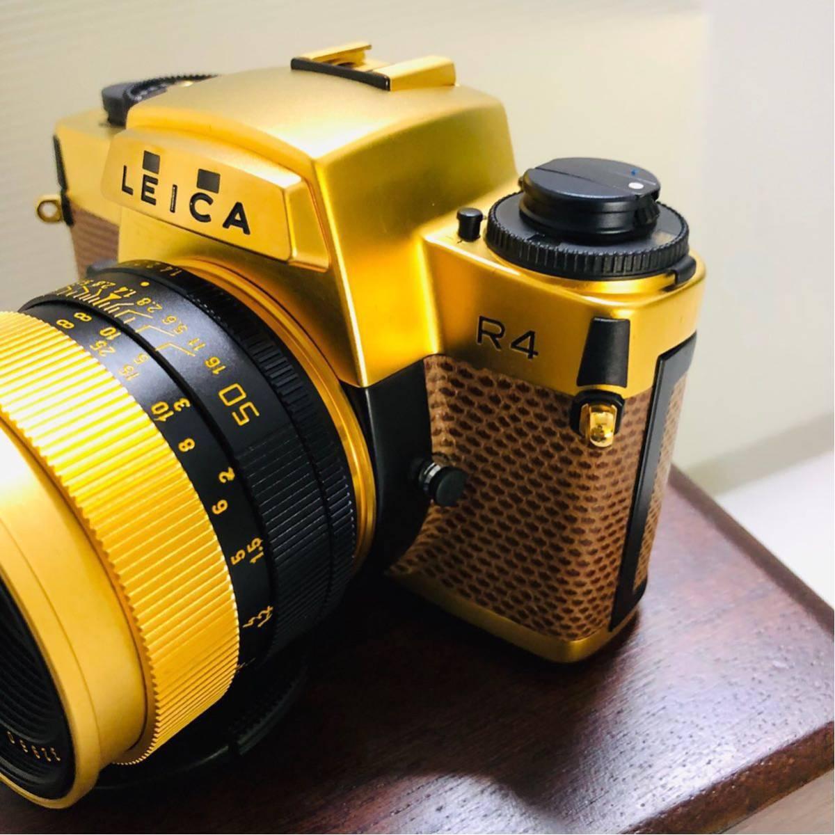 【極美品】Leica R4 SUMMILUX-R 1:1.4 50 LEITZ WETZLAR カメラ 希少_画像4