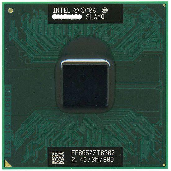 #A054★Intel Core2 Duo Processor T8300 (3M Cache 2.4 GHz 800 MHz FSB)