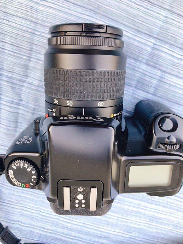 Canon キャノン EOS 1000S  ボディ  レンズ35-80㎜_画像6