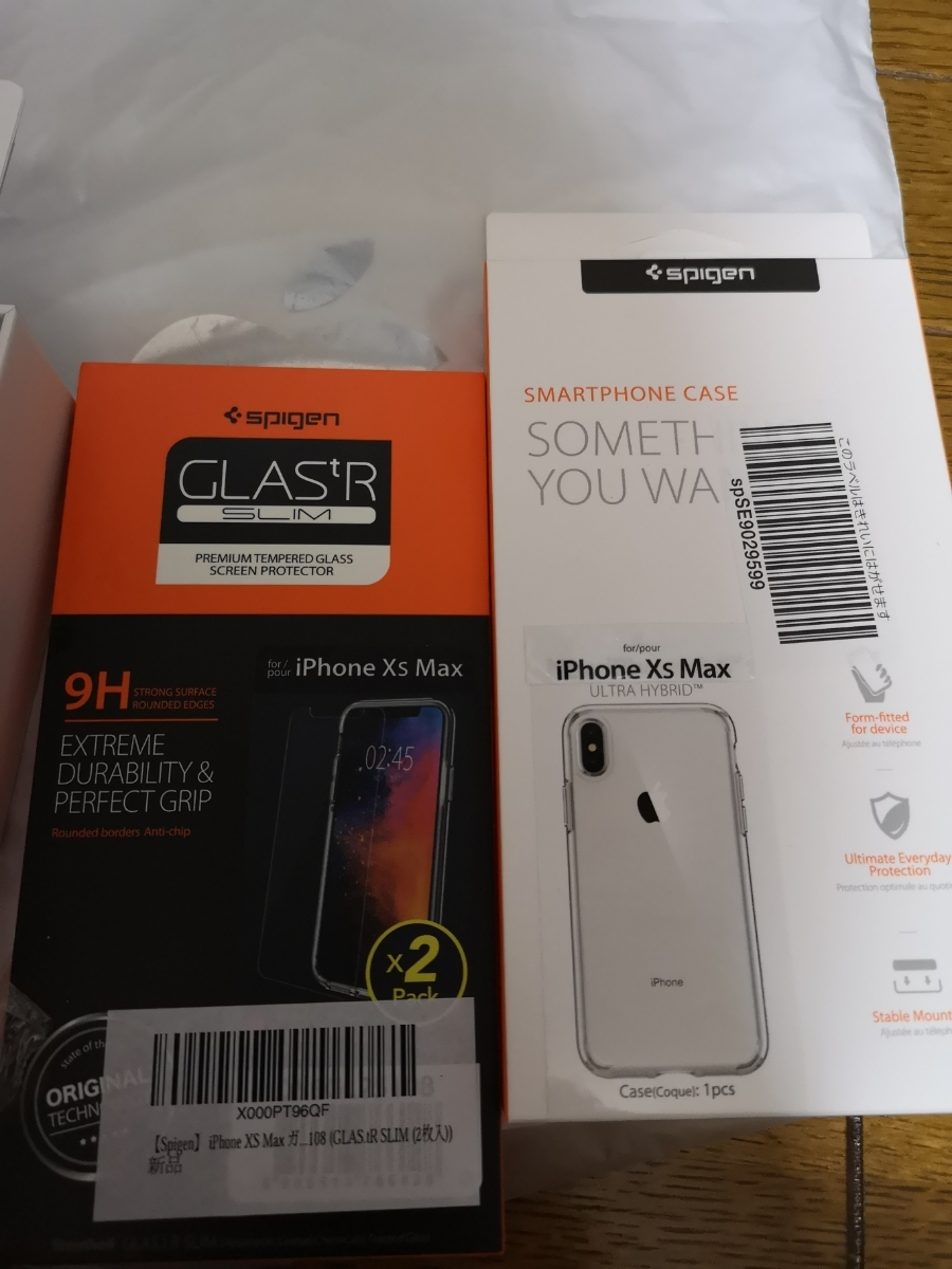 iphone XSMAX 256GB スペースグレー アップルストア購入 SIMフリー 極新品_画像4