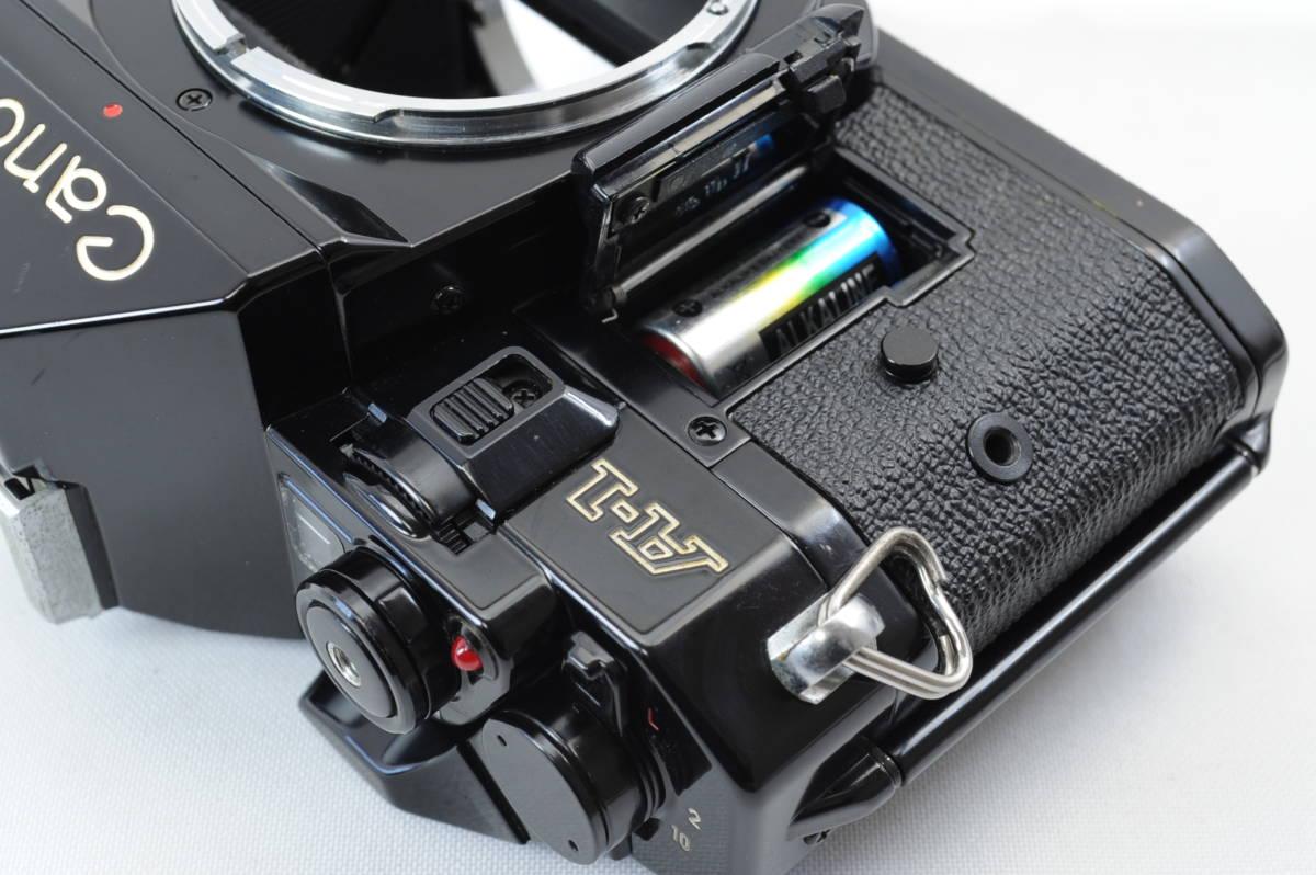 【ecoま】キヤノン CANON A-1 ブラック no.1931873 一眼レフフィルムカメラ_画像9
