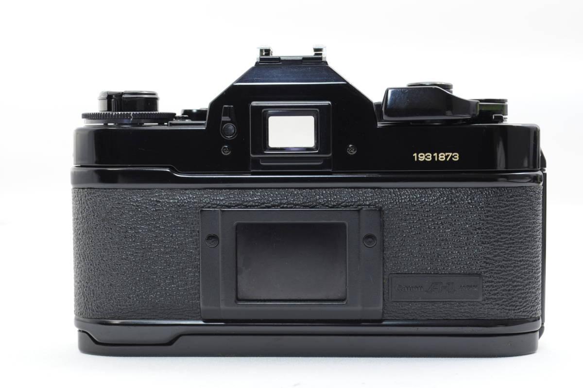 【ecoま】キヤノン CANON A-1 ブラック no.1931873 一眼レフフィルムカメラ_画像4