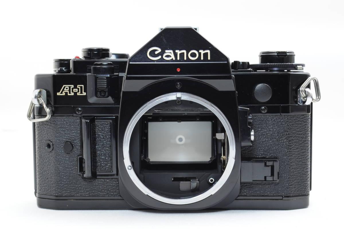 【ecoま】キヤノン CANON A-1 ブラック no.1931873 一眼レフフィルムカメラ