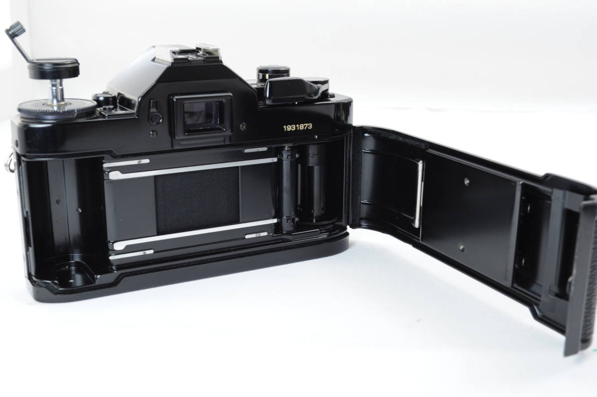 【ecoま】キヤノン CANON A-1 ブラック no.1931873 一眼レフフィルムカメラ_画像7